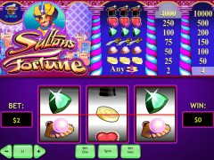 Sultans Fortune - Playtech