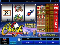 Chief's Fortune automatenspiele77.com Microgaming 1/5