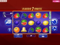 Classic7Fruits automatenspiele77.com MrSlotty 1/5