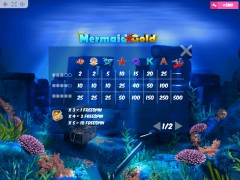 Mermaid Gold automatenspiele77.com MrSlotty 5/5